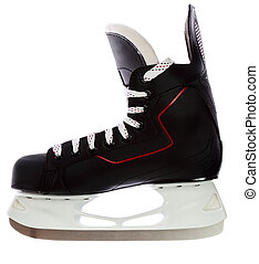 Hockey skates isolated on white background