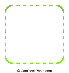 Green eco border