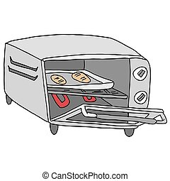 Retro Toaster Oven - An image of a  retro toaster oven.