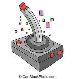 Retro Game Controller - An image of a retro game controller.