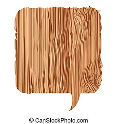 box wood chat bubble icon