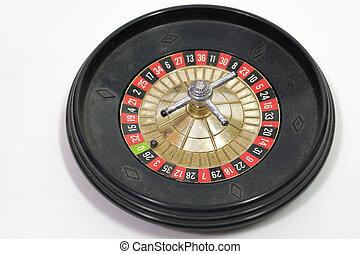 gambling toy, freestanding roulette wheel - toy gambling...