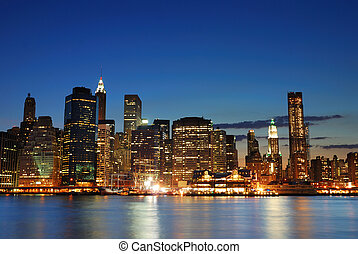 Manhattan in New York City
