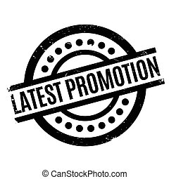 Latest Promotion rubber stamp. Grunge design with dust...