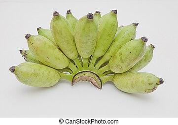 綠色, 香蕉