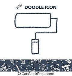 doodle paint roller