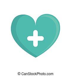 green heart cross medical