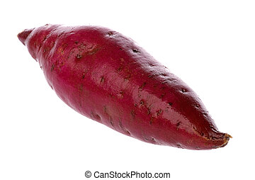 Japanese Sweet Potato - Isolated image of a Japanese sweet...