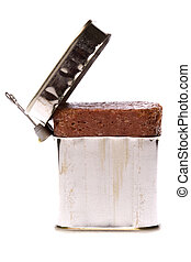Corned Beef Isolated - Isolated image of a can of corned...