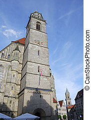 Minster St Georg of Dinkelsbhl in Franconia Germany