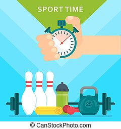 sport timr poster