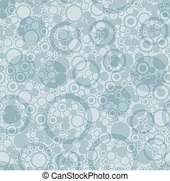 Abstract circles seamless pattern.  Decorative retro bright plain background.