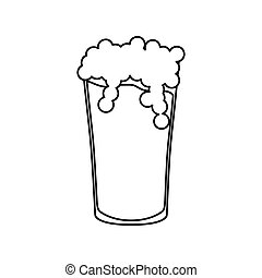 Beer and brewery icon vector illustration graphic design