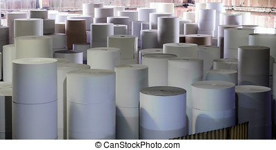 Paper making factory