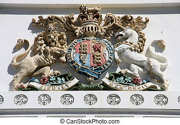 Royal Coat of Arms - The Lion and The Unicorn -...