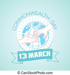 13 March Commonwealth Day - Calendar for each day on March...