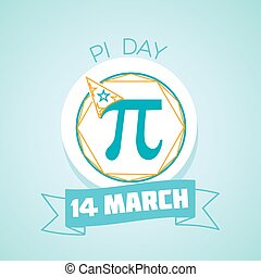 14 March Pi day - Calendar for each day on March 14....