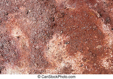 Red soil - Rhyolite red soil in active volcanic area -...
