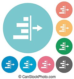 Decrease right indentation of content flat round icons -...