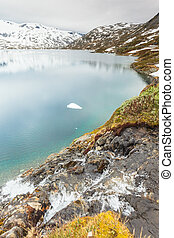 Djupvatnet lake, Norway - Tourism holidays and travel....