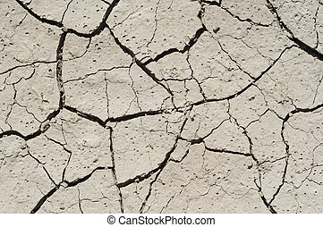 ground - Detail of the parched earth