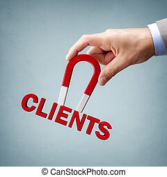 Attracting new clients and customers