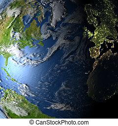 Northern Hemisphere on planet Earth - Northern Hemisphere....