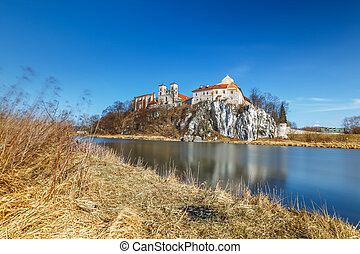 Benedictine monastery in Tyniec near Cracow, Poland
