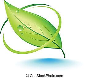Green leaf concept