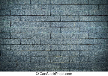brick wall texture background, blue color