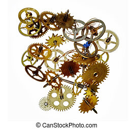broken clockwork mechanism
