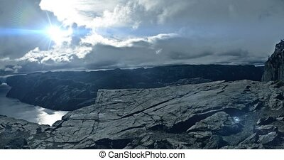 VFX Shot - Doomy Preikestolen Without People, Norway -...