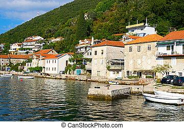 Kotor bay, Montenegro, Adriatic sea. - Kotor Bay and Old...