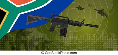 South Africa military power army defense industry war and...