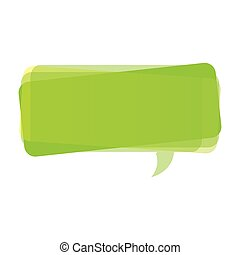 green square chat bubble icon