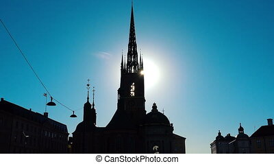 Church in Stockholm. Sweden. - Church in Stockholm, religion...
