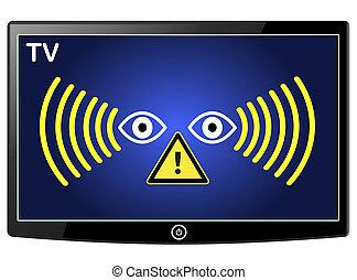 Warning Smart TV Spy
