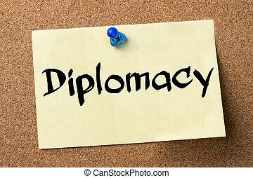 adesivo, diplomacia,  -, etiqueta, fixado, tábua, boletim