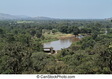 The Blue Nile in Ethiopia