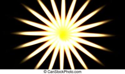 swirl white light and pattern