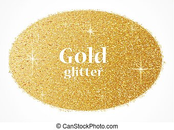 Gold glitter texture - vector illustration of Gold glitter...