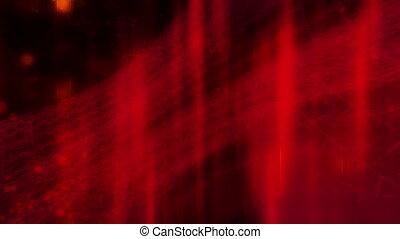 Red orange black abstract CG animated looping background