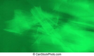 Green abstract looping CG background - Animated CG green...