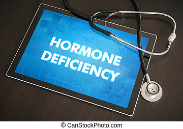 Hormone deficiency (endocrine disease) diagnosis medical...