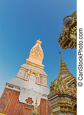 Wat Phra That Panom temple, Thailand. - Wat Phra That Panom...