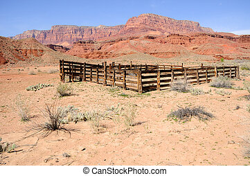Historic Corral at Lonely Dell Ranch