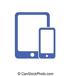 phone and tablet vector