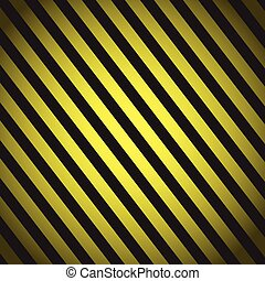 striped warning background vector
