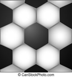 background with soccer ball texture