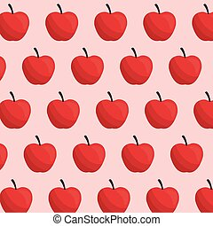 apple fruit seamless pattern vector illustration eps 10